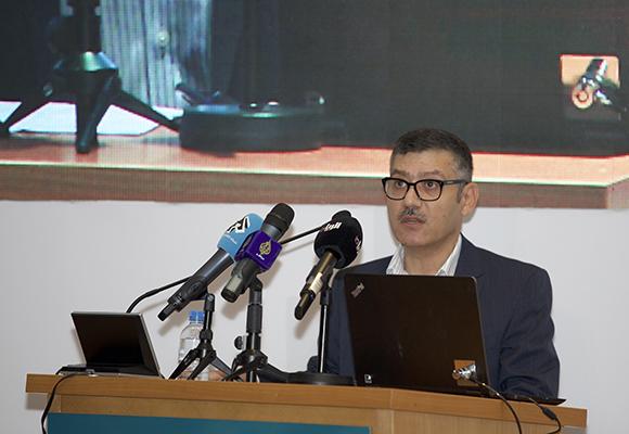الدكتور مروان قبلان في افتتاح المنتدى