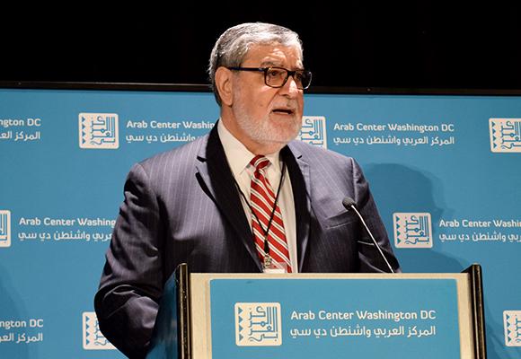 الدكتور خليل جهشان، المدير التنفيذي للمركز العربي واشنطن